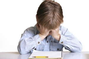 schon in jungen Jahren hoher Druck in der Schule  --> Leistungsdruck